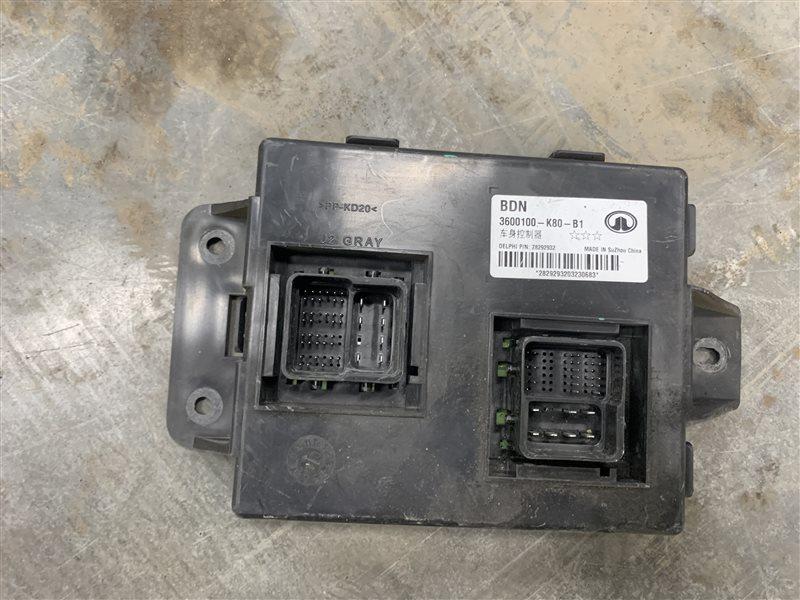Блок управления электрооборудованием Great Wall Hover H3 H3 4G63S4M 2011 (б/у)