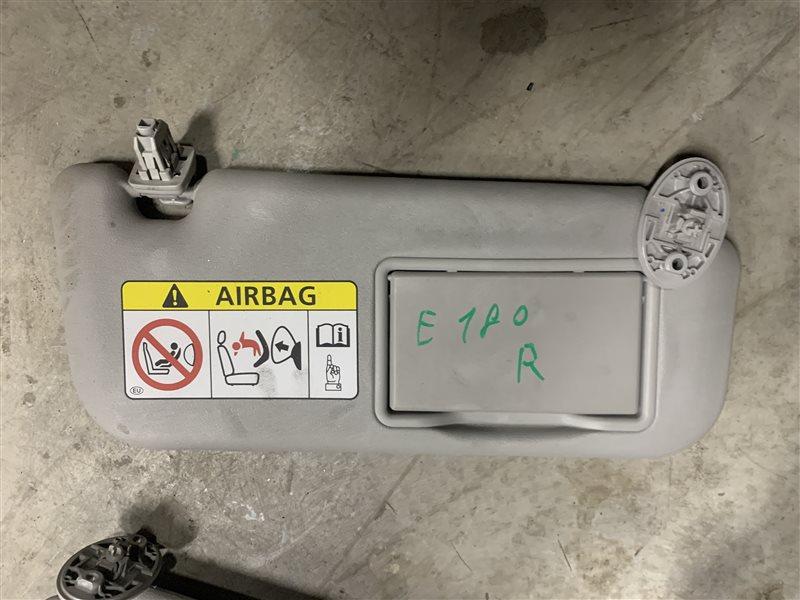 Козырек солнцезащитный Toyota Corolla E180 ZRE181 1ZRFE 2013 правый (б/у)