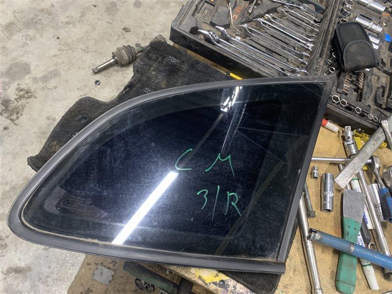 Стекло собачника Hyundai Santa Fe Cm CM G4KE 2010 заднее правое (б/у)