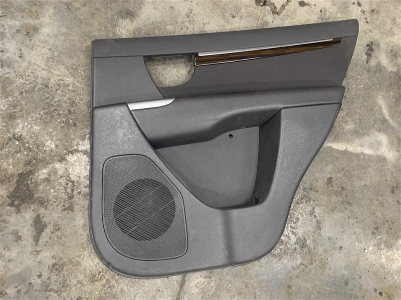 Обшивка двери Hyundai Santa Fe Cm CM G4KE 2010 задняя правая (б/у)