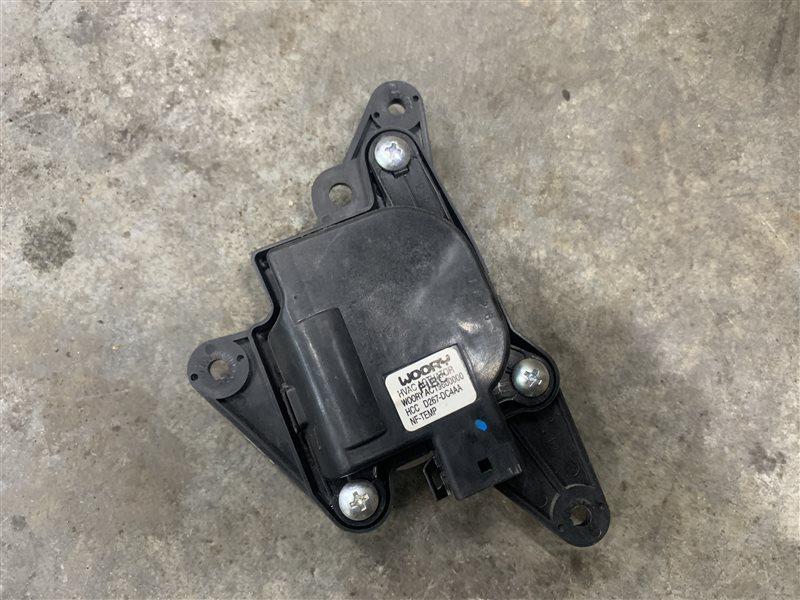 Моторчик заслонки печки Hyundai Santa Fe Cm CM G4KE 2010 (б/у)