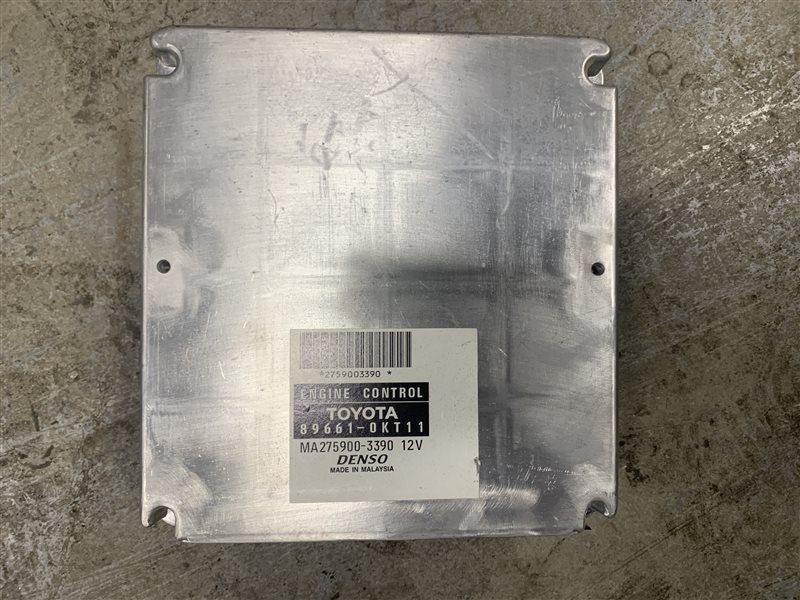 Блок управления двигателем Toyota Hilux Pick Up 2010-2015 KUN26L 1KD-FTV 2014 (б/у)