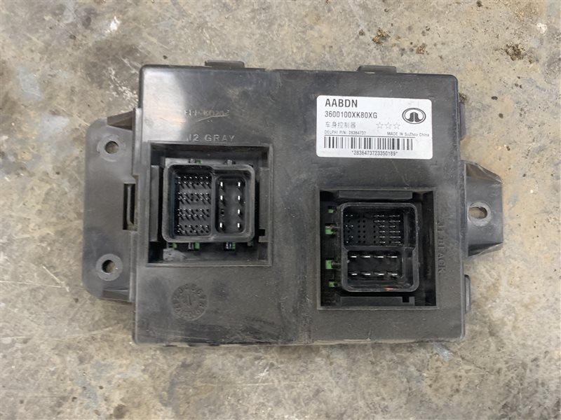 Блок управления электрооборудованием Great Wall Hover H5 H5 4G69S4N 2013 (б/у)