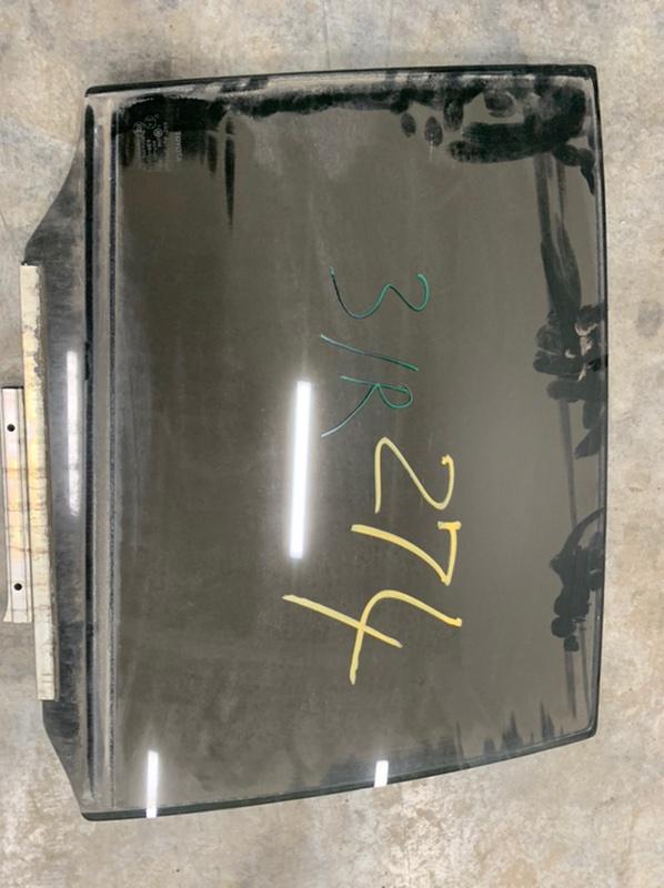 Стекло двери Toyota Harrier Gsu35 GSU35 2GR-FE 2007 заднее правое (б/у)