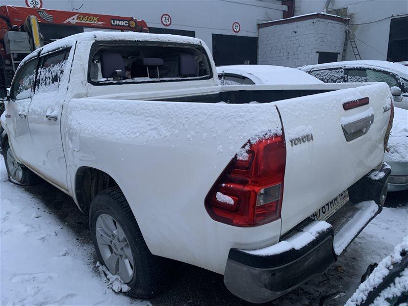 Авто на разбор Toyota Hilux Pick Up 2015-2020 GUN125L 2GD-FTV 2015 (б/у)