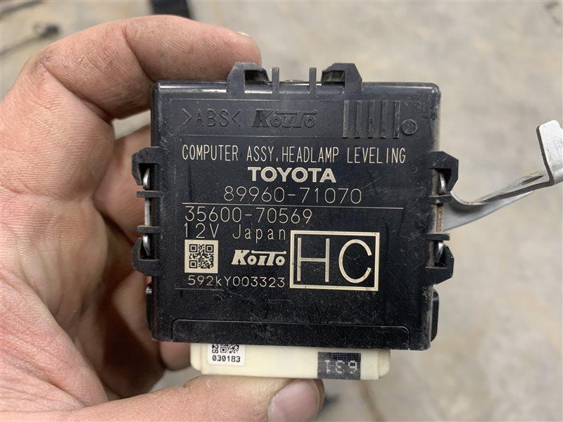 Блок управления светом Toyota Hilux Pick Up 2015-2020 GUN125L 2GD-FTV 2015 (б/у)