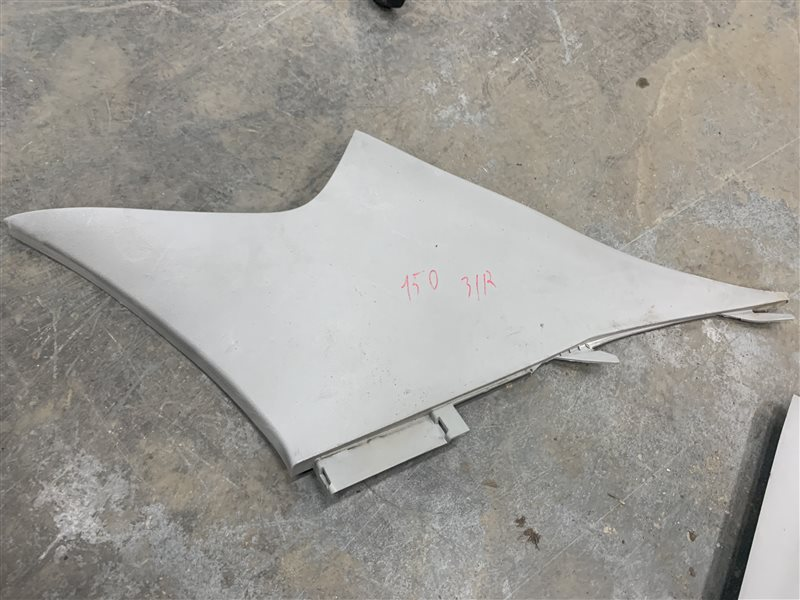 Обшивка стойки задней Toyota Corolla E150 E150 1ZR-FE 2008 задняя правая (б/у)