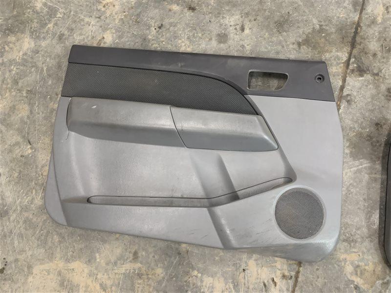 Обшивка двери Mazda Bt50 UN8F1 WLAA 2008 передняя левая (б/у)