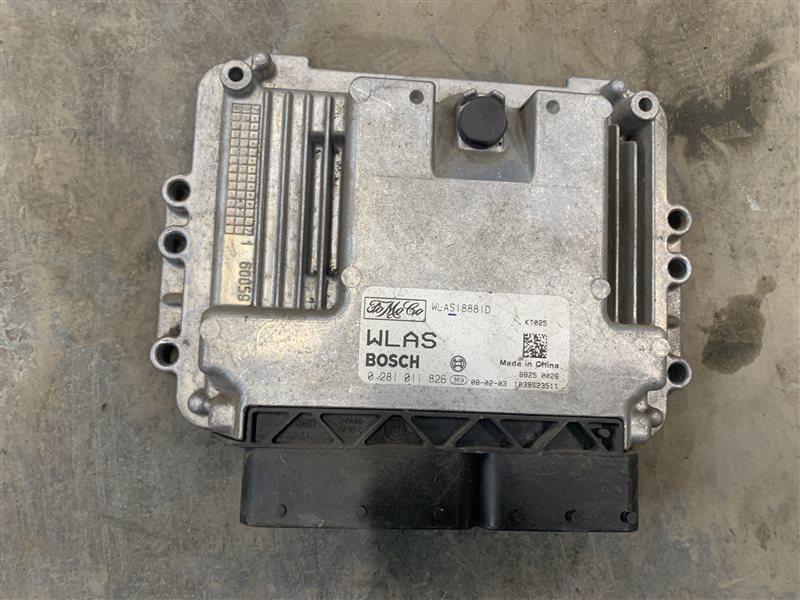Блок управления двигателем Mazda Bt50 UN8F1 WLAA 2008 (б/у)