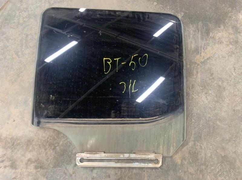 Стекло двери Mazda Bt50 UN8F1 WLAA 2008 заднее левое (б/у)