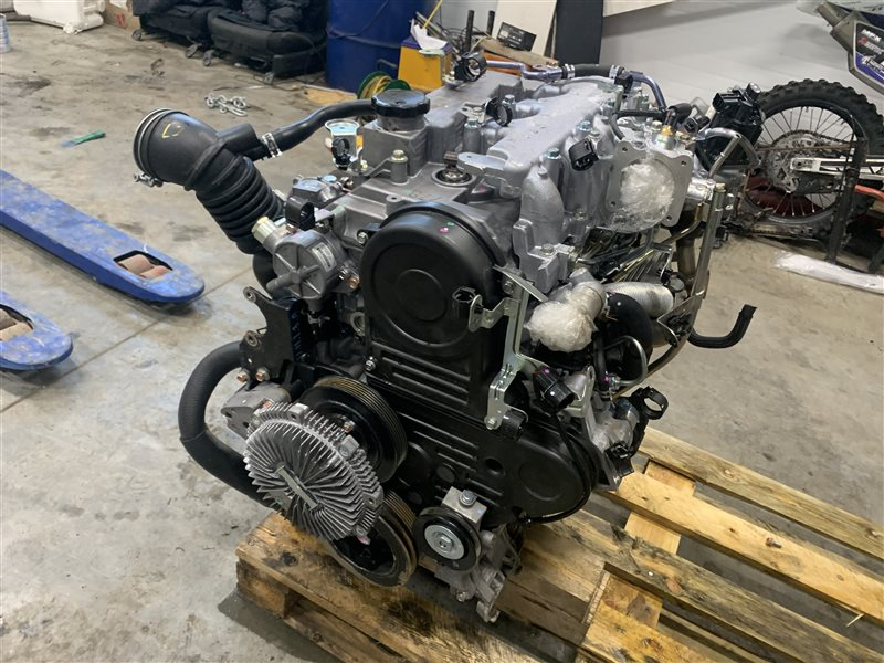 Двигатель Mitsubishi L200 Kb4T KB4T 4D56 2011 (б/у)