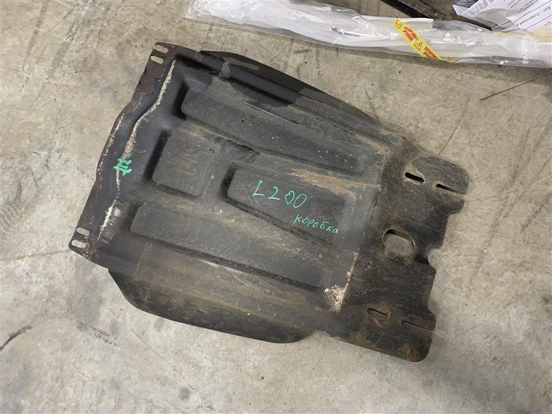 Защита кпп Mitsubishi L200 Kb4T KB4T 4D56 2011 (б/у)