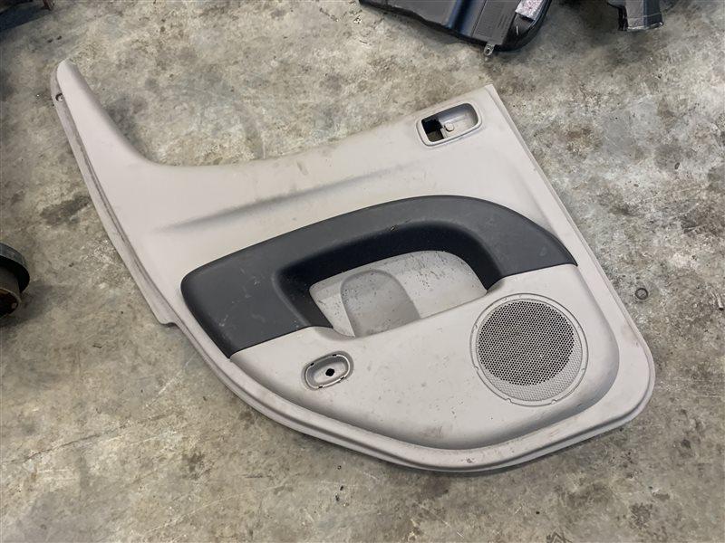 Обшивка двери Mitsubishi L200 Kb4T KB4T 4D56 2011 задняя левая (б/у)