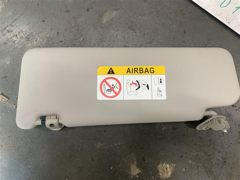 Козырек солнцезащитный Nissan Terrano D10 D10 F4R 2018 правый (б/у)