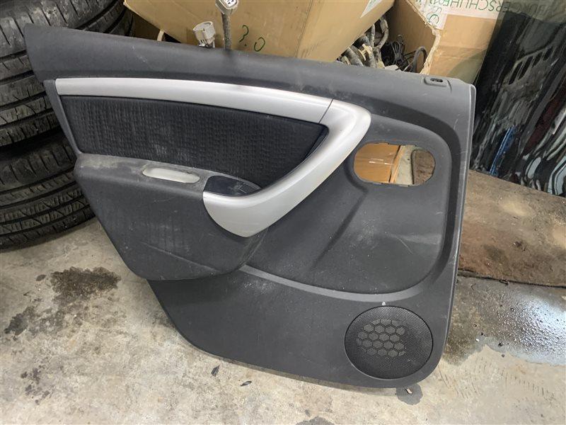 Обшивка двери Nissan Terrano D10 D10 F4R 2018 задняя левая (б/у)
