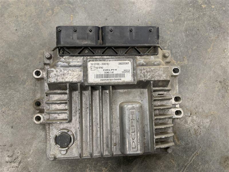Блок управления двигателем Great Wall Hover H5 H5 GW4D20 2013 (б/у)