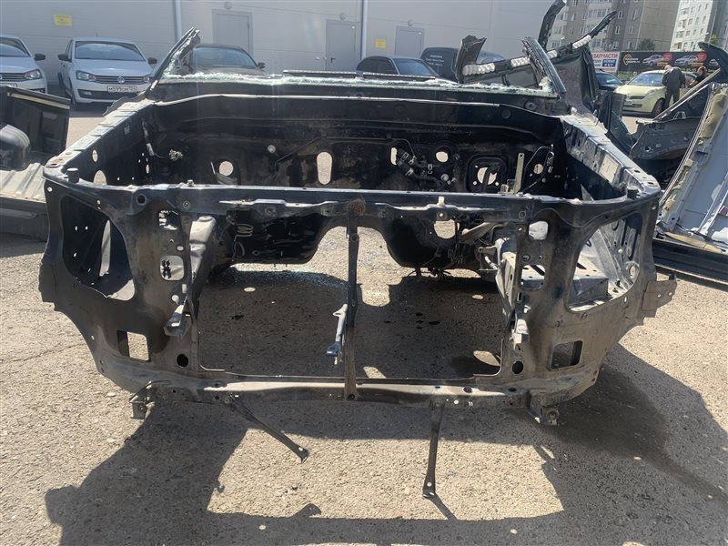 Панель радиатора Toyota Hilux Pick Up 2010-2015 KUN25L 2KD-FTV 2014 (б/у)