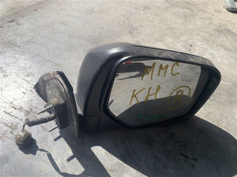 Зеркало Mitsubishi Pajero Sport Kh0 KH0 4D56 2014 правое (б/у)