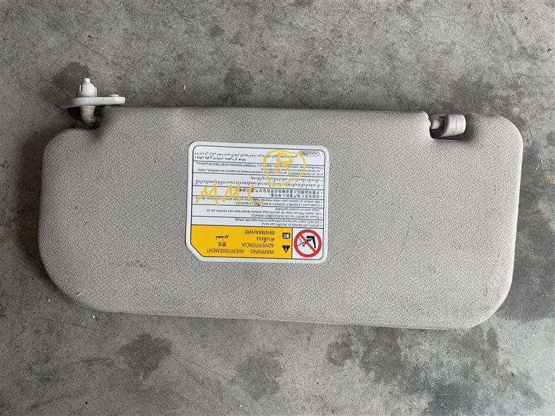 Козырек солнцезащитный Mitsubishi Pajero Sport Kh0 KH0 4D56 2014 правый (б/у)