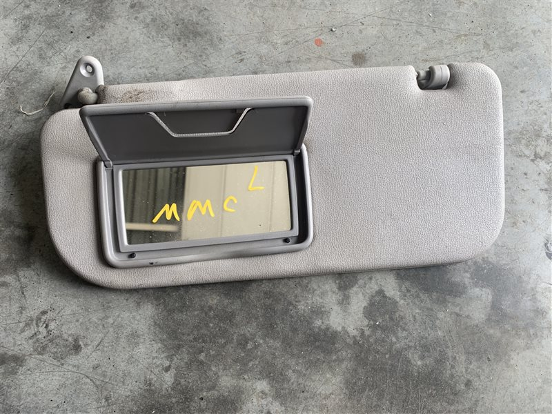 Козырек солнцезащитный Mitsubishi Pajero Sport Kh0 KH0 4D56 2014 левый (б/у)