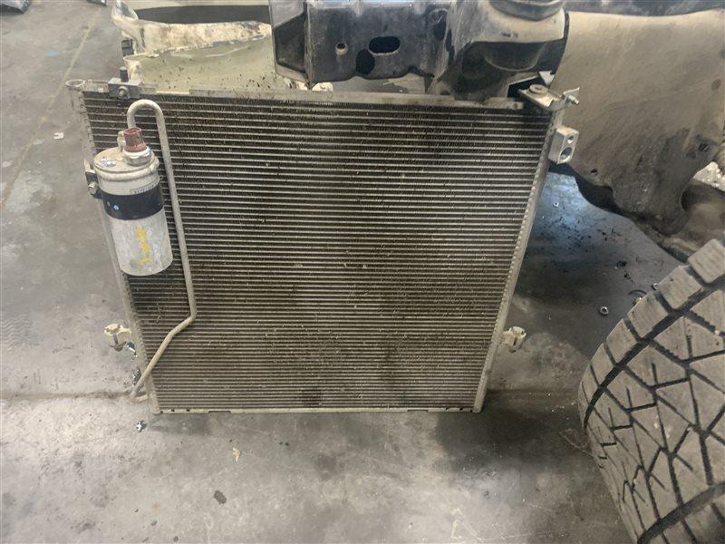 Радиатор кондиционера Mitsubishi Pajero Sport Kh0 KH0 4D56 2014 (б/у)