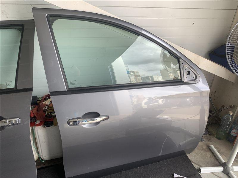 Дверь боковая Mitsubishi L200 Kk/kl KK/KL 4N15 2018 передняя правая (б/у)