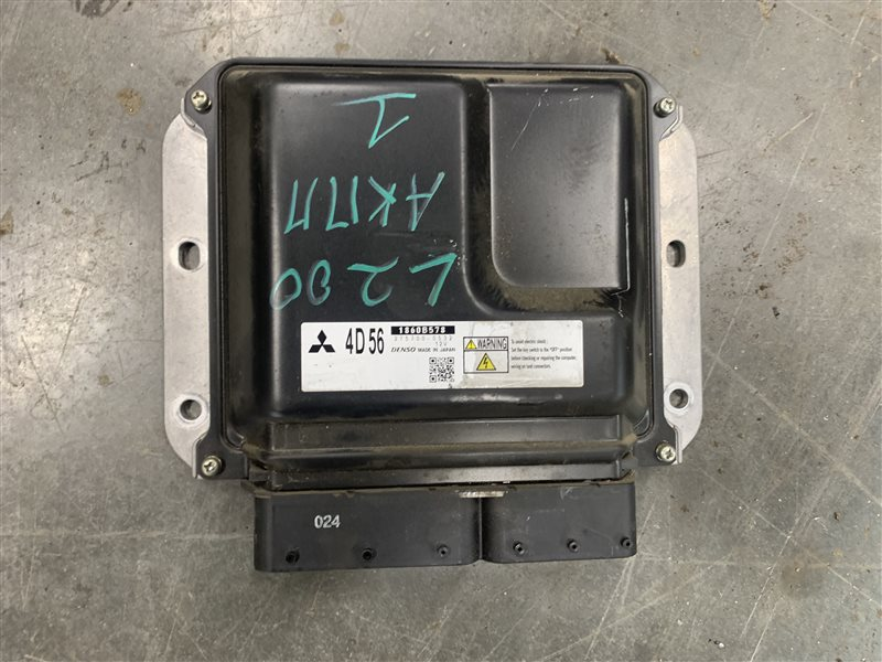 Блок управления двигателем Mitsubishi L200 Kb4T KB4T 4D56U 2012 (б/у)