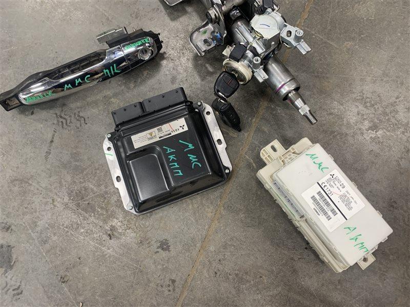 Блок управления двигателем Mitsubishi Pajero Sport Kh0 KH0 4D56 2012 (б/у)