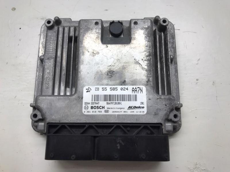 Блок управления двигателем Opel Insignia 0G-A A20DTH 2011 (б/у)