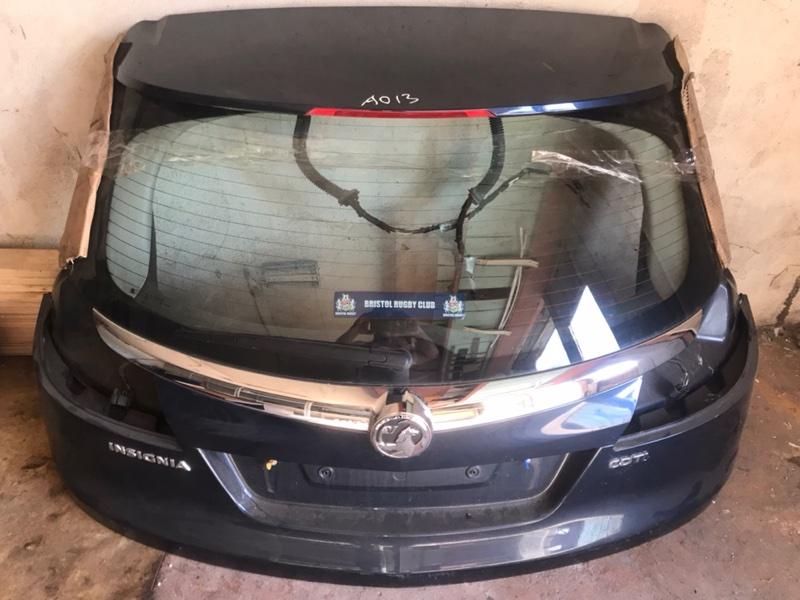 Крышка багажника Opel Insignia 0G-A A20DTH 2011 задняя (б/у)