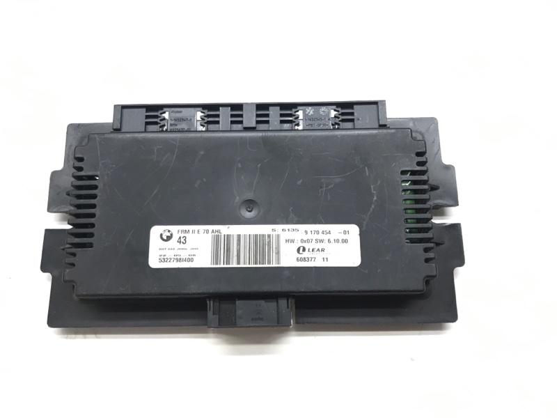 Блок управления светом frm 2 ahl Bmw X5 E70 M57 3.0 2009 (б/у)