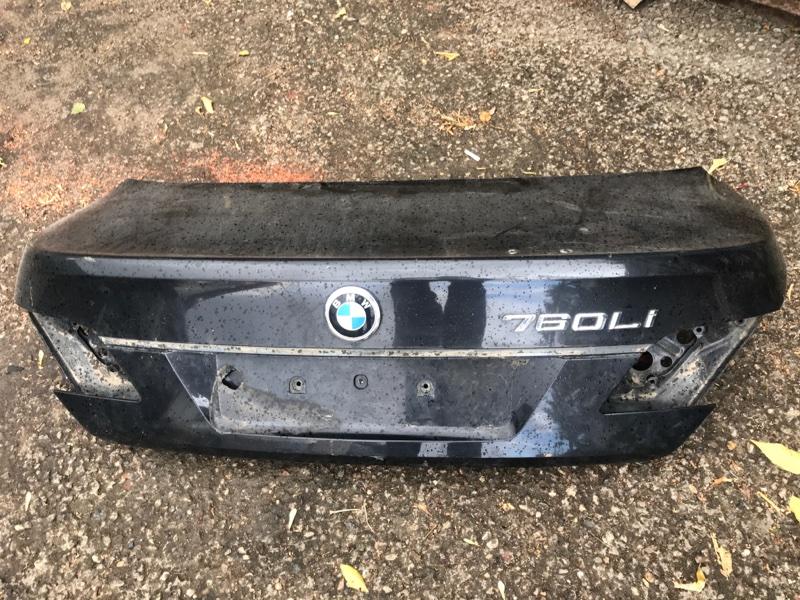Крышка багажника Bmw 7 Series E66 N73 2006 задняя (б/у)