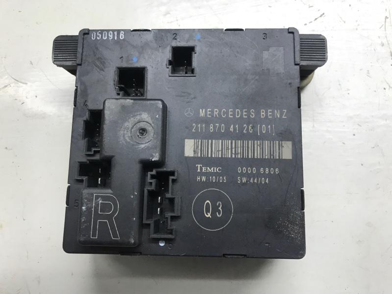 Блок управления дверьми Mercedes Benz E-Klasse W211 OM-271 2005 задний правый (б/у)