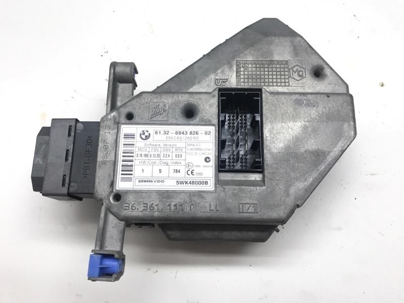 Выключатель зажигания и стартера/cas Bmw 7 Series E66 N73 2006 (б/у)