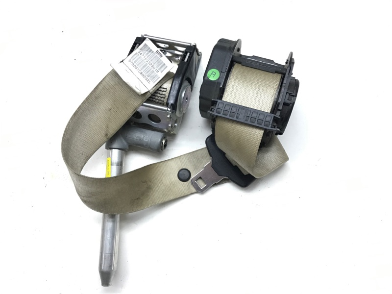 Ремень плечевой Bmw 7 Series E65 N63B40 2006 задний правый (б/у)