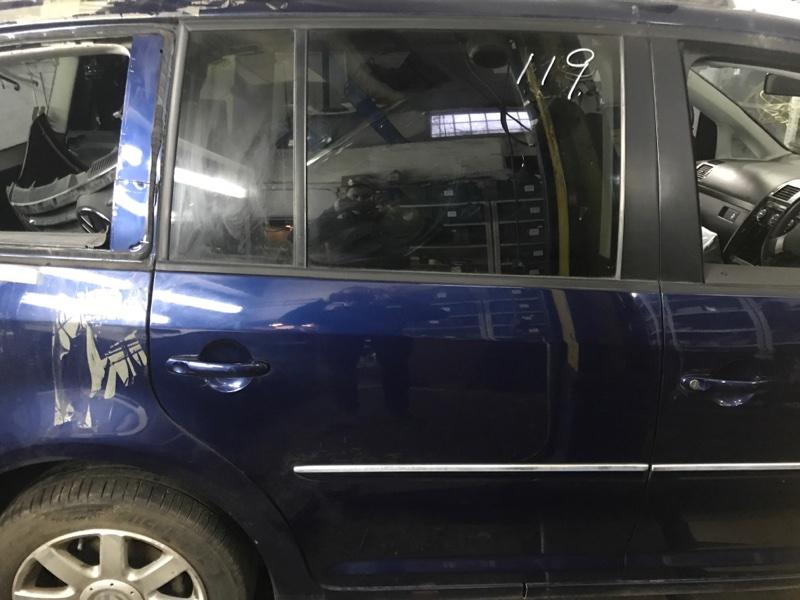 Дверь Volkswagen Touran 1.4 БЕНЗИН 2008 задняя правая (б/у)