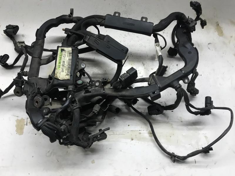 Проводка двигателя Mercedes Benz E-Klasse W211 M272.972 2005 (б/у)