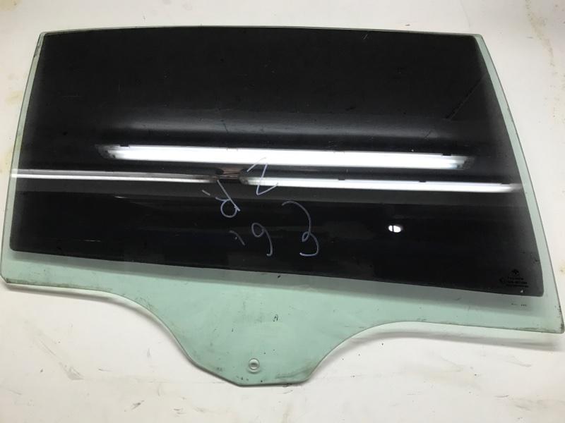 Стекло двери Bmw 7 Series E66 N62 2006 заднее правое (б/у)