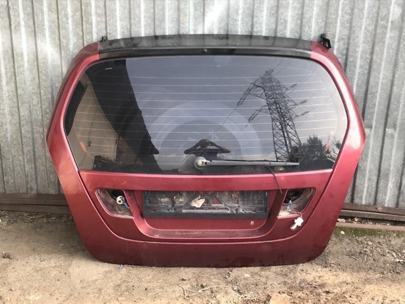 Крышка багажника Suzuki Liana RH416 M16A 1.6I 2005 (б/у)