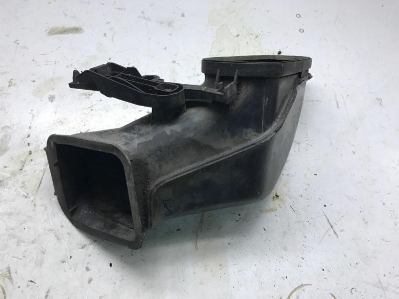 Коробка воздухопритока Bmw 7 Series E65 N63B40 2006 левая (б/у)