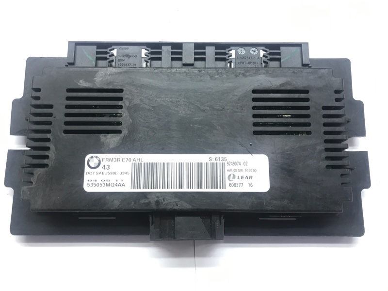 Блок управления светом frm 2 ahl Bmw X5 E70 N62 4.8 2009 (б/у)