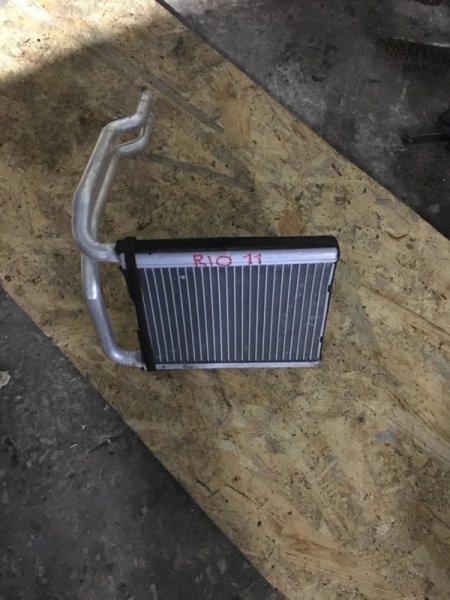 Радиатор отопителя Kia Rio QB 2012 (б/у)