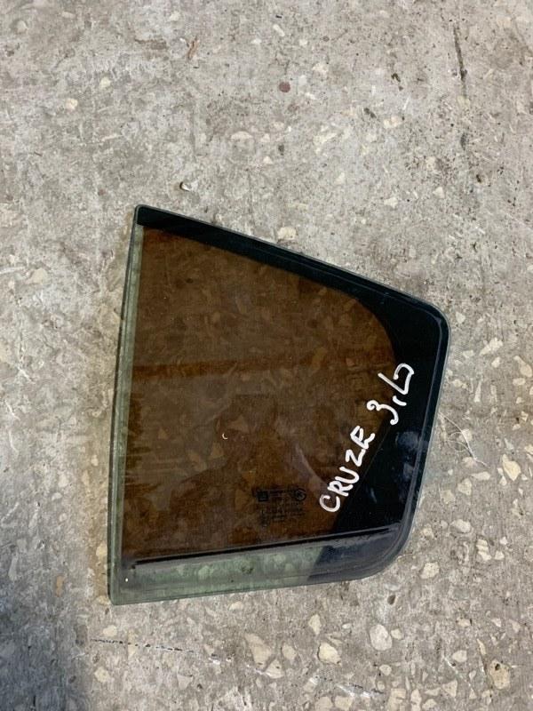 Форточка двери Chevrolet Cruze J300 2011 задняя левая (б/у)