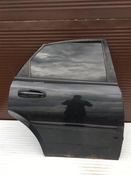 Дверь Chevrolet Lacetti J200 F16D3 2008 задняя правая (б/у)