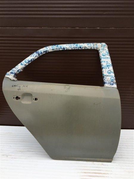 Дверь Geely Mk 2012 задняя правая