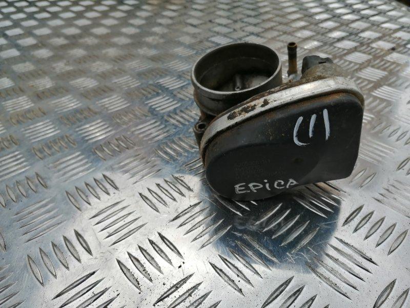 Дросельная заслонка Chevrolet Epica V250 X20D1 2007 (б/у)