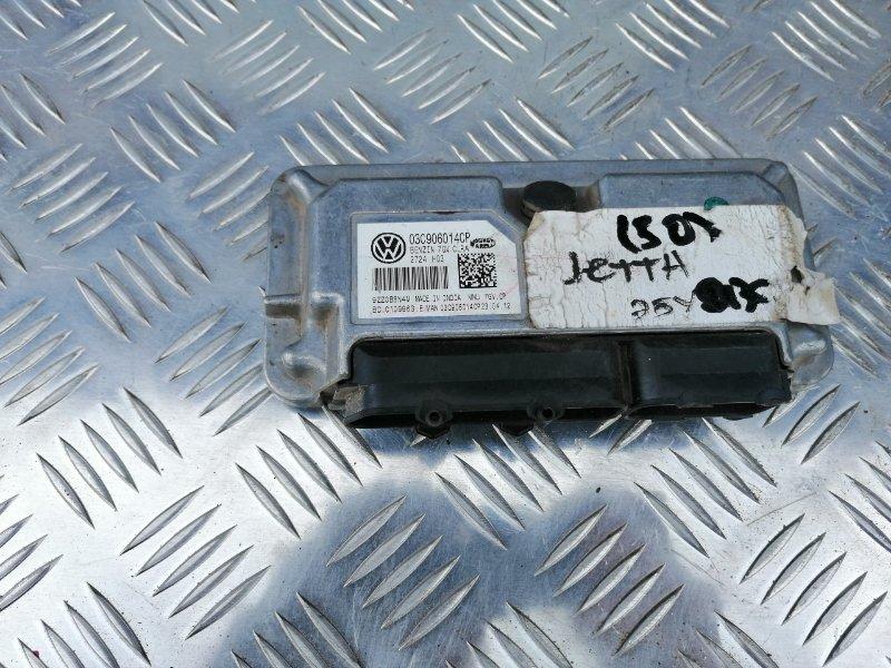 Блок управления двигателем Volkswagen Jetta 6 162 CLR 2012 (б/у)