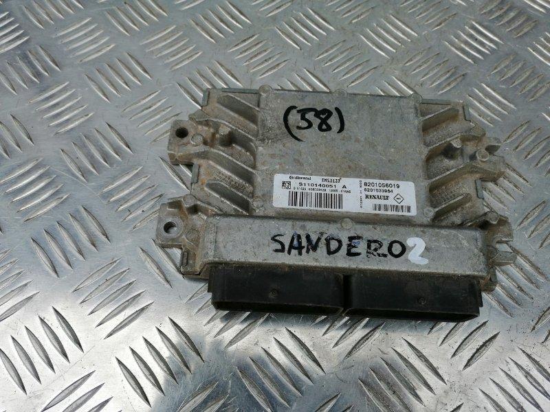 Блок управления двигателем Renault Sandero BS12 K7J 2011 (б/у)