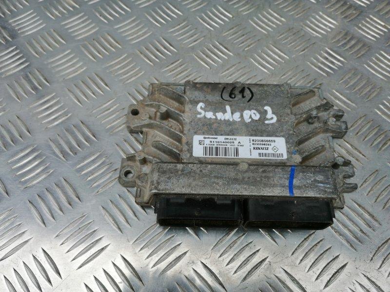 Блок управления двигателем Renault Sandero BS12 K7M 2012 (б/у)