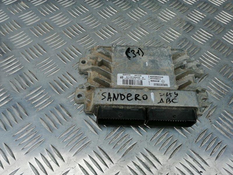 Блок управления двигателем Renault Sandero BS12 K7M 2013 (б/у)